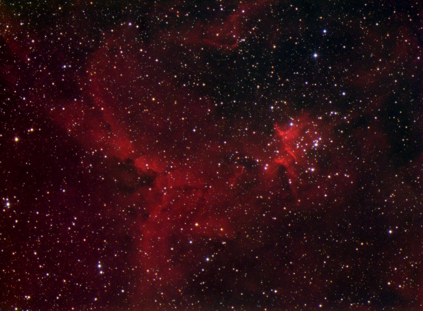 IC1805 - The Heart nebula